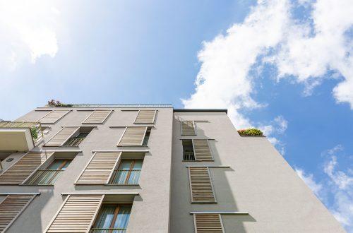 Marco Zanuso - Via Altaguardia - particolare facciata