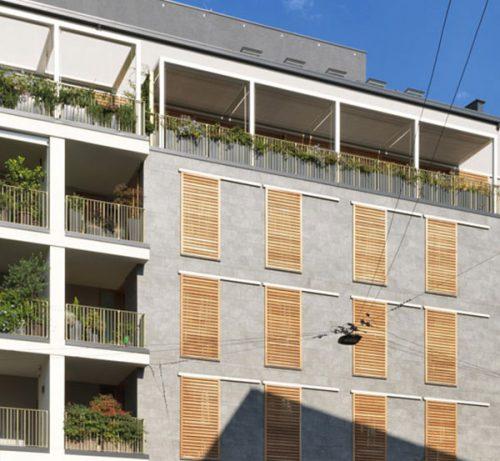 Marco Zanuso architetture Via Altaguardia 11