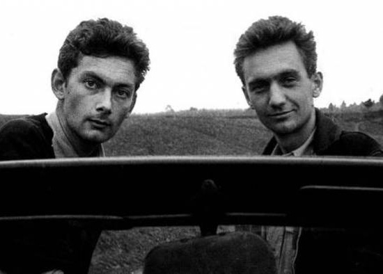 Thierry Vernet e Nicolas Bouvier